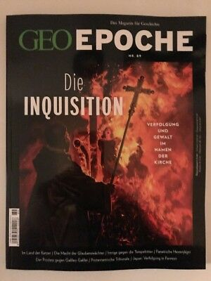 "GEO Epoche Magazin Nr. 89 "" Die Inquisition """