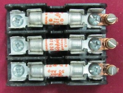 Gould 30313 Fuse Holder 3P 30A 600V with fuses