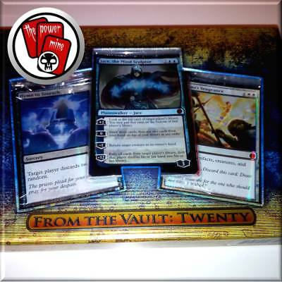 MTG From the Vault Twenty FTV 20 ~ incl. Jace the Mind Sculptor UNBANNED ~ New