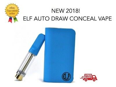 NEW 2018! ELF by Honeystick Auto Draw Conceal Kit Oil Vape-Pen 22 BUTTONLESS