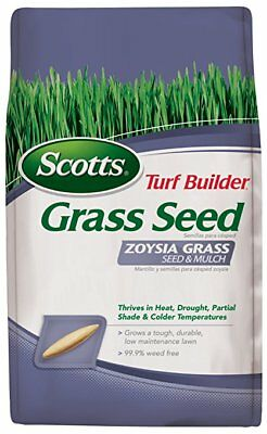 Scotts Turf Builder Zoysia Grass Seed & Mulch, See Details