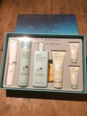 Liz Earle Find Your Glow Gift Set, Route To Radience Gift Set. Rrp £62 , Bnib !!