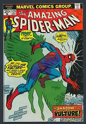 Marvel Comics Amazing Spider-Man #128 1974-Origin Of Vulture - Solid Copy!!