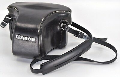 Canon F-1 35mm Camera with Canon 50mm 1:1.4 Lens - Leather Case