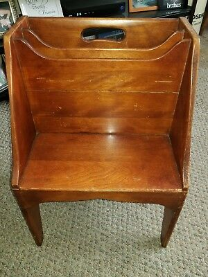 cushman colonial creations magazine rack vintage 1934