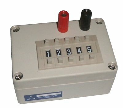Capacitance (Electrolytic) Decade Box - (0.1uF - 9,999.9uF)