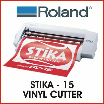 Roland Vinyl Cutter - Roland Stika Sv 15 - Fixed Price Delivery - Protech Cnc