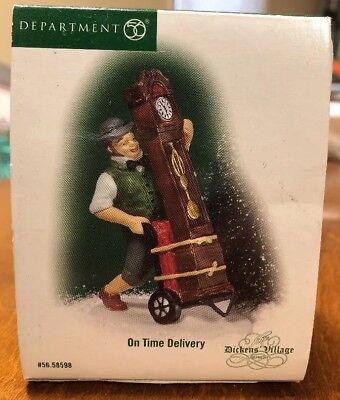 Department 56 Dickens Village - On Time Delivery -MIB