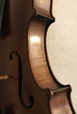 A Fine and Interesting Old American Violin by Oscar Davis c. 1940, Bow, New Case