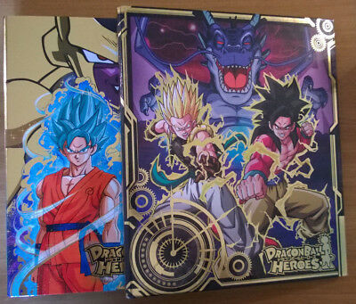 Dragon Ball Heroes・Lot de 2, 9 Pocket Binder, Golden Frieza + Galaxy Mission #3