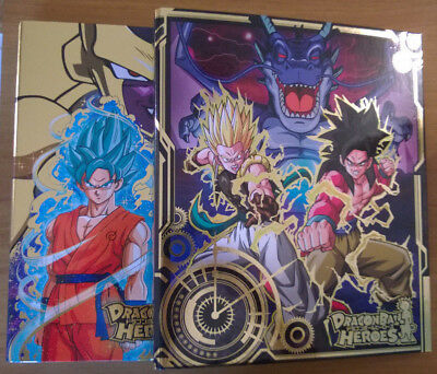 Dragon Ball Heroes・Lot de 2, 9 Pocket Binder, Golden Frieza + Galaxy Mission #1