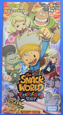 The Snack World Trepacard・TP-01 [1 Boite = 24 Boosters]