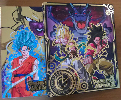 Dragon Ball Heroes・Lot de 2, 9 Pocket Binder, Golden Frieza + Galaxy Mission #2