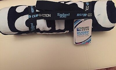 Genuine Rugby World Cup 2015 Beach Towel *BNWT*