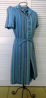 PRINCETON Australia~Classic SHIRTWAISTER DRESS~Toyobo 'It's a Good Life' fabric