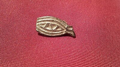 Ancient authentic Gepids ( Gepidae) gold plated fibulae / broch