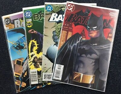 Batman (DC Comics) Key Issue Lot 500 535 610 627 NM