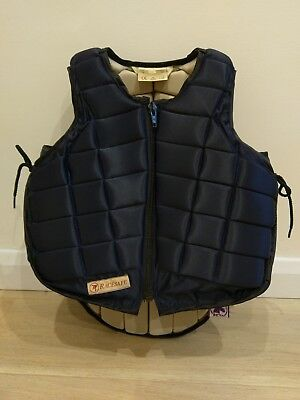 Horse riding body protector - Racesafe childs extra large.