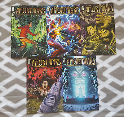 Coheed and Cambria LOT of The Amory Wars Volume 2 Comic... 5 Single Issues