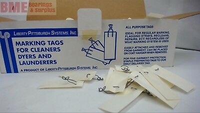 Liberty Pittsburg Systems Marking Tags For Cleaners Dyers And Launderers