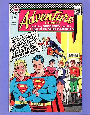 Adventure Comics #350 -    Legion of Super-Heroes! -- --  FN-  cond.
