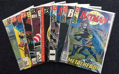 Batman (DC Comics) Key Issue Lot 400 408 409 412 442 475 479 486