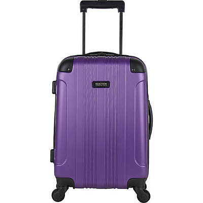 """Kenneth Cole Reaction Out Of Bounds 20"""" Hardside Spinner Luggage - Purple"""