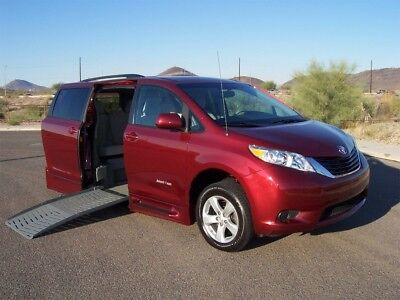 2013 Toyota Sienna LE Wheelchair Handicap Mobility Van 2013 Toyota Sienna LE Wheelchair Handicap Mobility Side Entry Low Mile Van