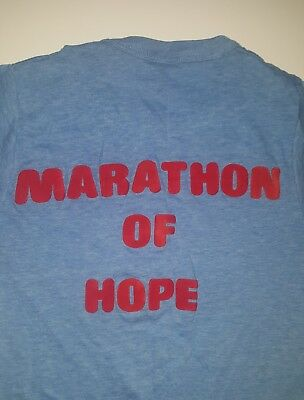 Vintage Terry Fox Marathon of Hope T-Shirt, Women's Small, 1980