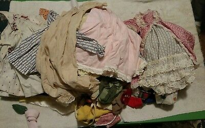 Vintage Doll Clothing Clothes Estate Mixed  Lot Various Sizes