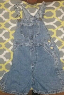 3t Overalls Boys or Girls Jean Fabric Shorts