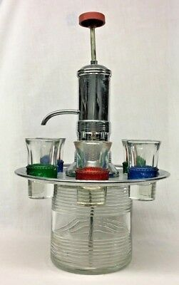 Star Trek Voyager Dispenser / Blade Runner Deckard Vodka Glass Set