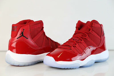 Nike Air Jordan Retro 11 Chicago Gym Red Black BG GS 378038-623 4-7 6 xi