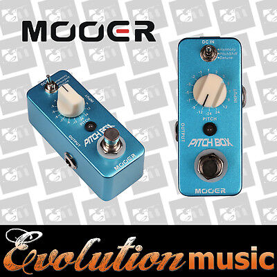 Mooer Pitch Box Pitch Shifting Guitar Effects Pedal