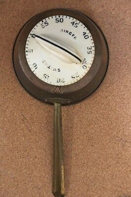1960s Cooking Timer, Smiths Great Britain England, Vintage, Collectable Timer