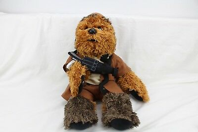 Build A Bear Star Wars Chewbacca Retired Sound Box Chewie Bowcaster & Clothes
