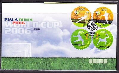Indonesia 2006 World Cup Football First Day Cover