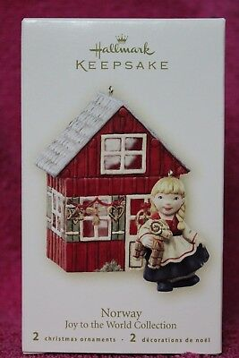 Hallmark Keepsake Ornament Norway Joy To The World Collection 2007