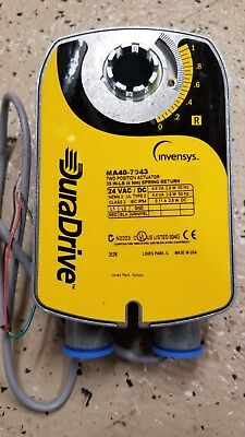 Invensys Spring Return Damper Actuator, Two position 35in-lb/4nM 24VAC