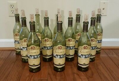 2012 CAYMUS lot 12 empty collectors bottles with corks