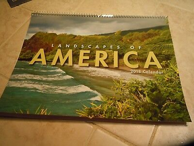 2018 Wall Calendar-Landscapes Of America