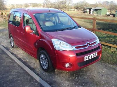 2008 08 citroen berlingo multispace 1 6 hdi 92 desire 5dr modutop sunroof 1. Black Bedroom Furniture Sets. Home Design Ideas