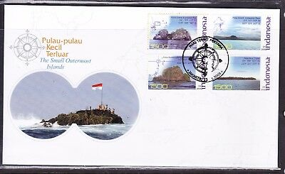 Indonesia 2008 Outermost Islands  First Day Cover