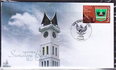 Indonesia Provinces 2008 Sumatera Barat First Day Cover