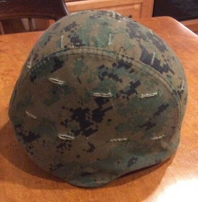 Marine Corps Pasgt Kevlar Helmet Authentic  Small