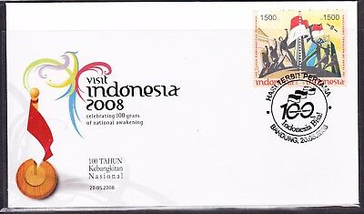 Indonesia 2008 National Awakening  First Day Cover