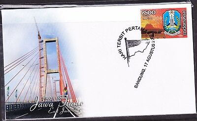 Indonesia Provinces 2009 Jawa Timur  First Day Cover