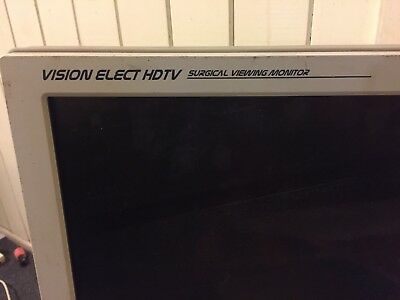 """Stryker Endoscopy 26"""" Vision Elect HDTV Surgical Viewing Monitor"""