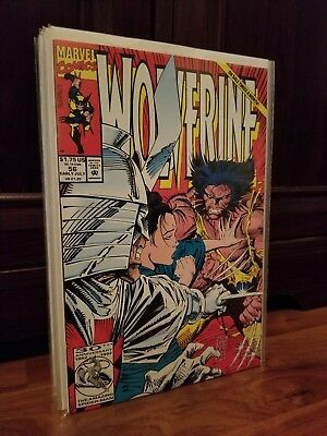 Wolverine Lot 2 of3 (1992): 56 through 70 (57), by Larry Hama & Silvestri.