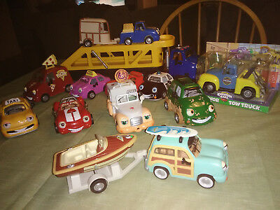 Vintage The Chevron Cars Lot Of 12 Collectible Toy Cars-1996-2000-Very HTF-L@@K!